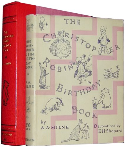 The Christopher Robin Birthday Book by A.A. Milne